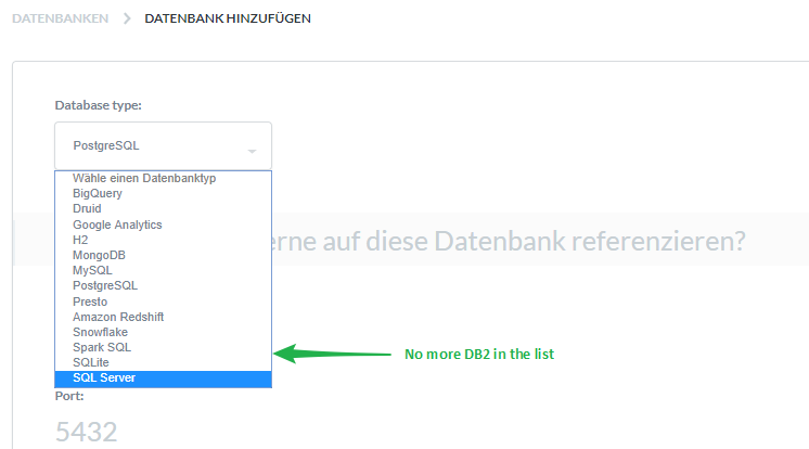 Not able to add DB2 driver - Get Help - Metabase Discussion
